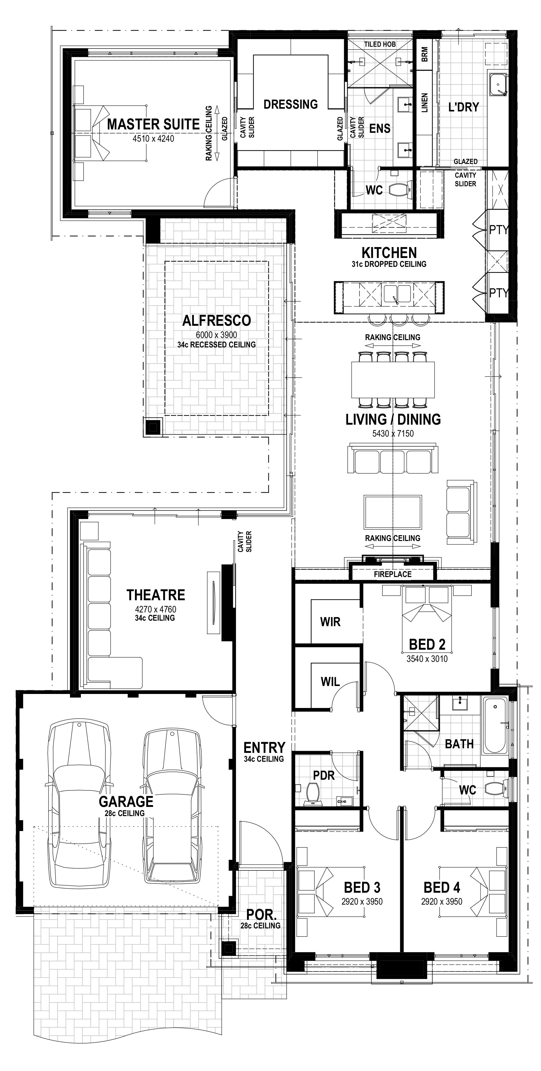Manor Lot 15 Pallium Way Floorplan Floor Plan Design New House Plans Home Design Floor Plans