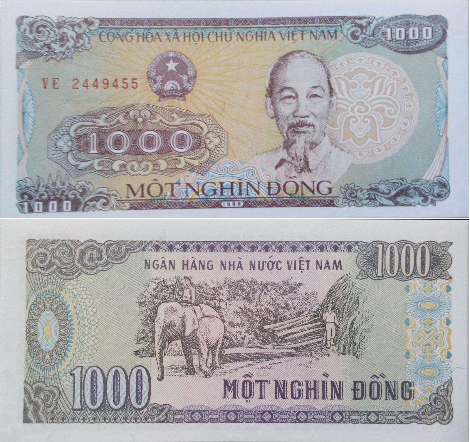 1000 Dong Currency Note Of Vietnam Monnaies Pinterest Banknote