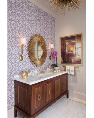 Loving this unusual mirror for a bathroom | Wallpaper ...