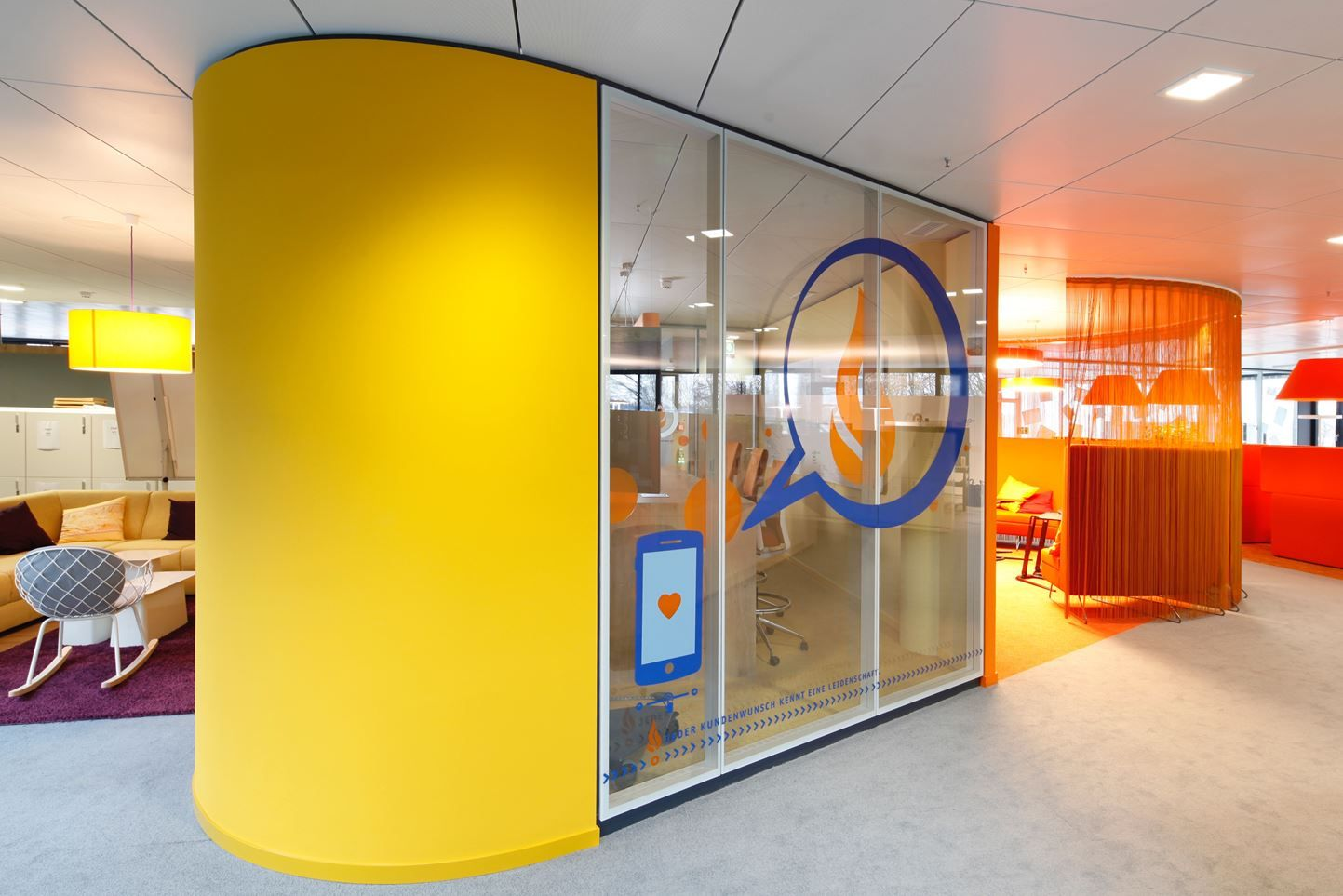 Team Bank Hq Picture Gallery Showroom Design Interior Fit Out Locker Storage