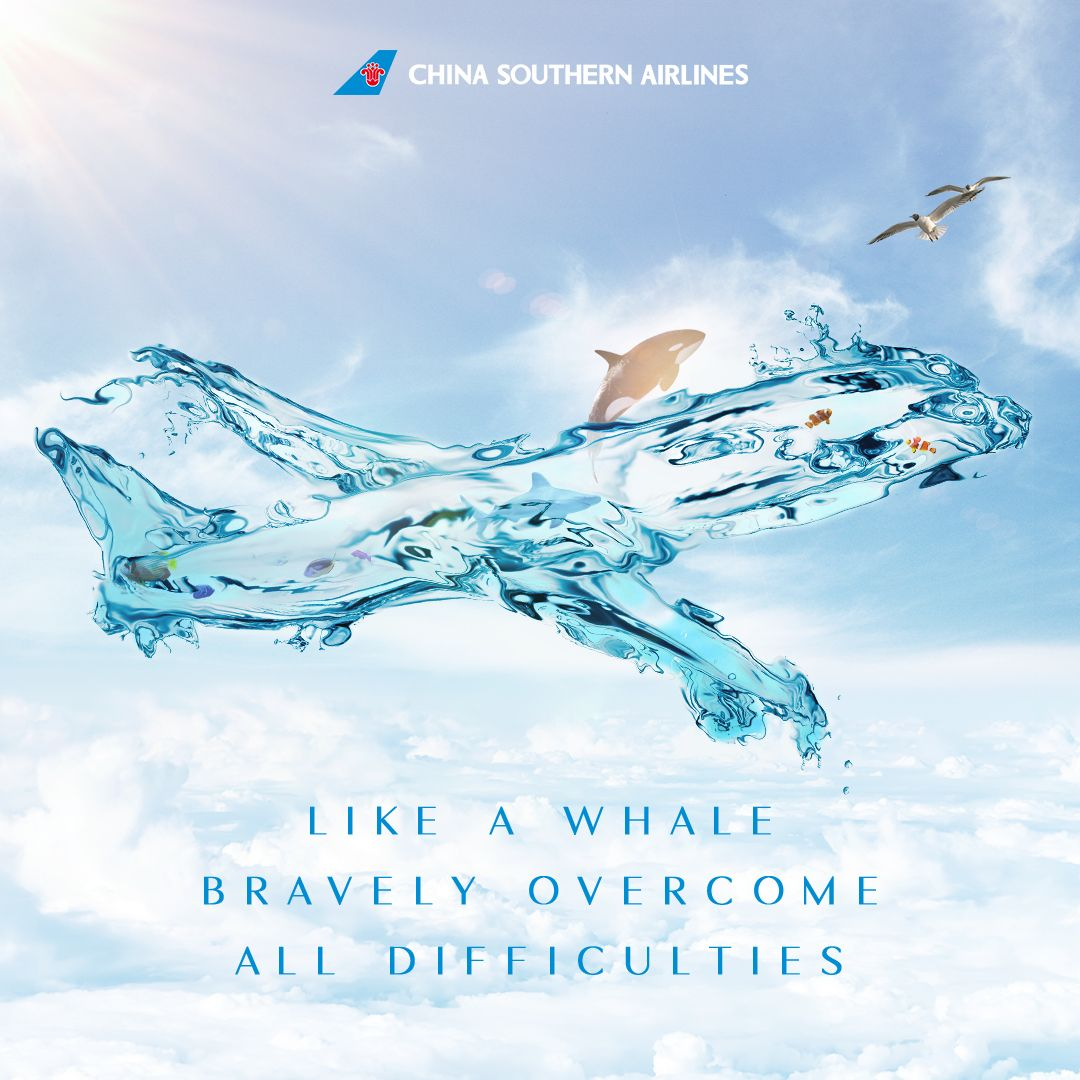 With the grace of a glorious whale, bravely all