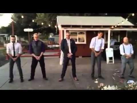 Surprise Backstreet Boys Performance by Groom & groomsmen! - YouTube