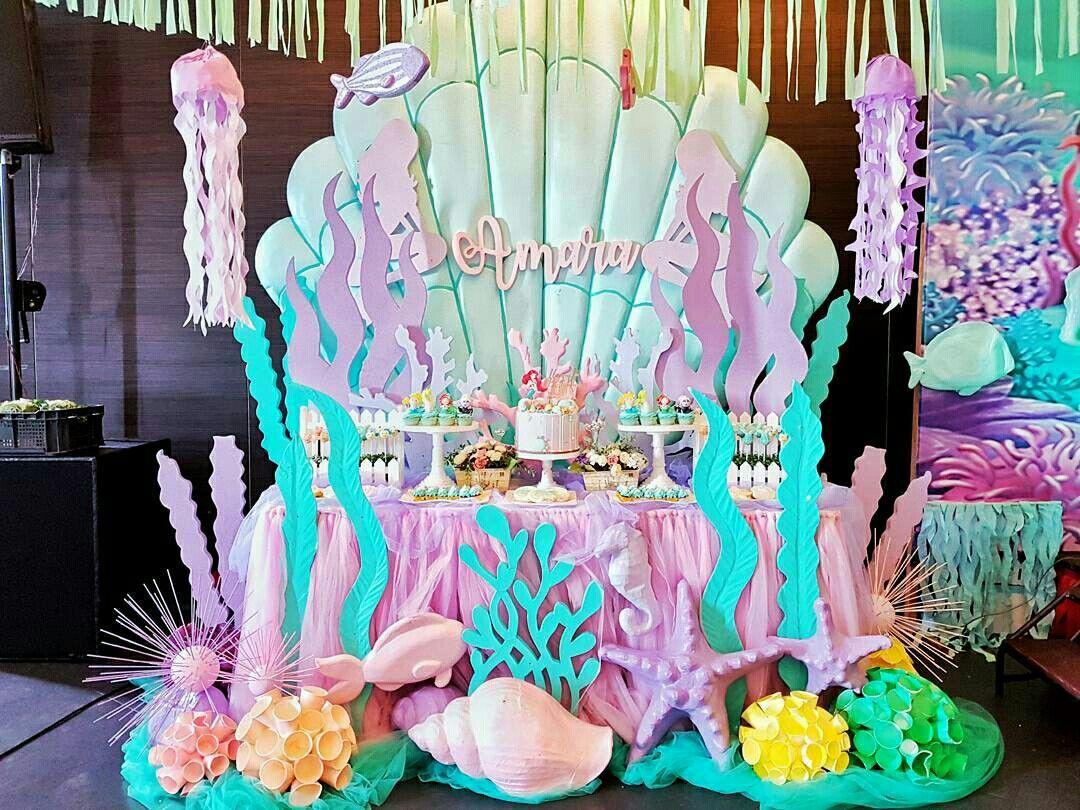 Rojstnodnevna zabava Morska deklica Morska zabava leta 2019 Fiesta-9425