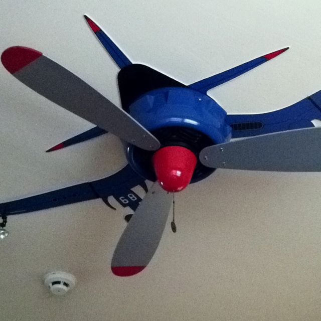 Adorable Ceiling Fan For A Little Boy Airplane Boys Room