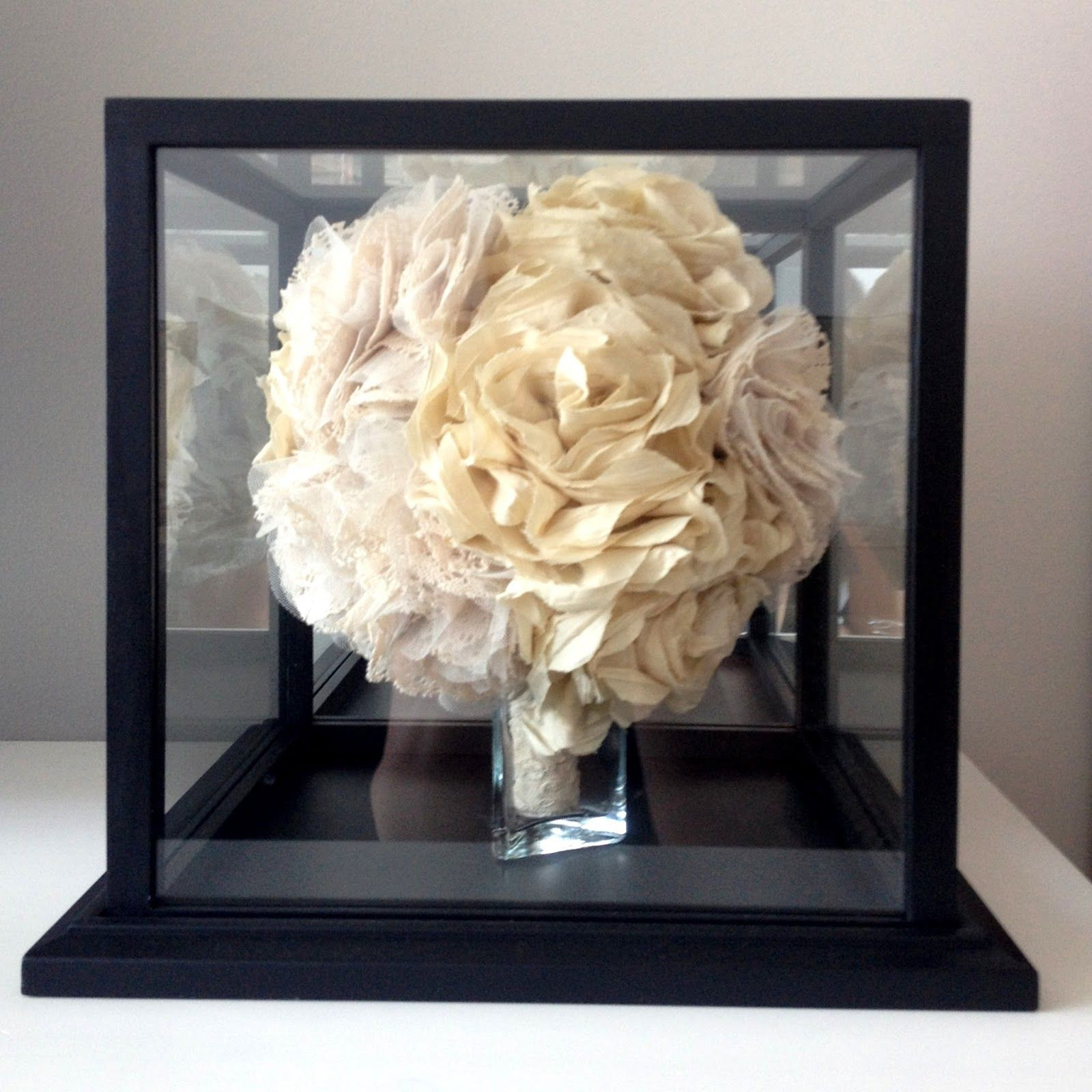 The Sweet Avenue: DIY: Bridal Bouquet (Basketball) Display Case ...