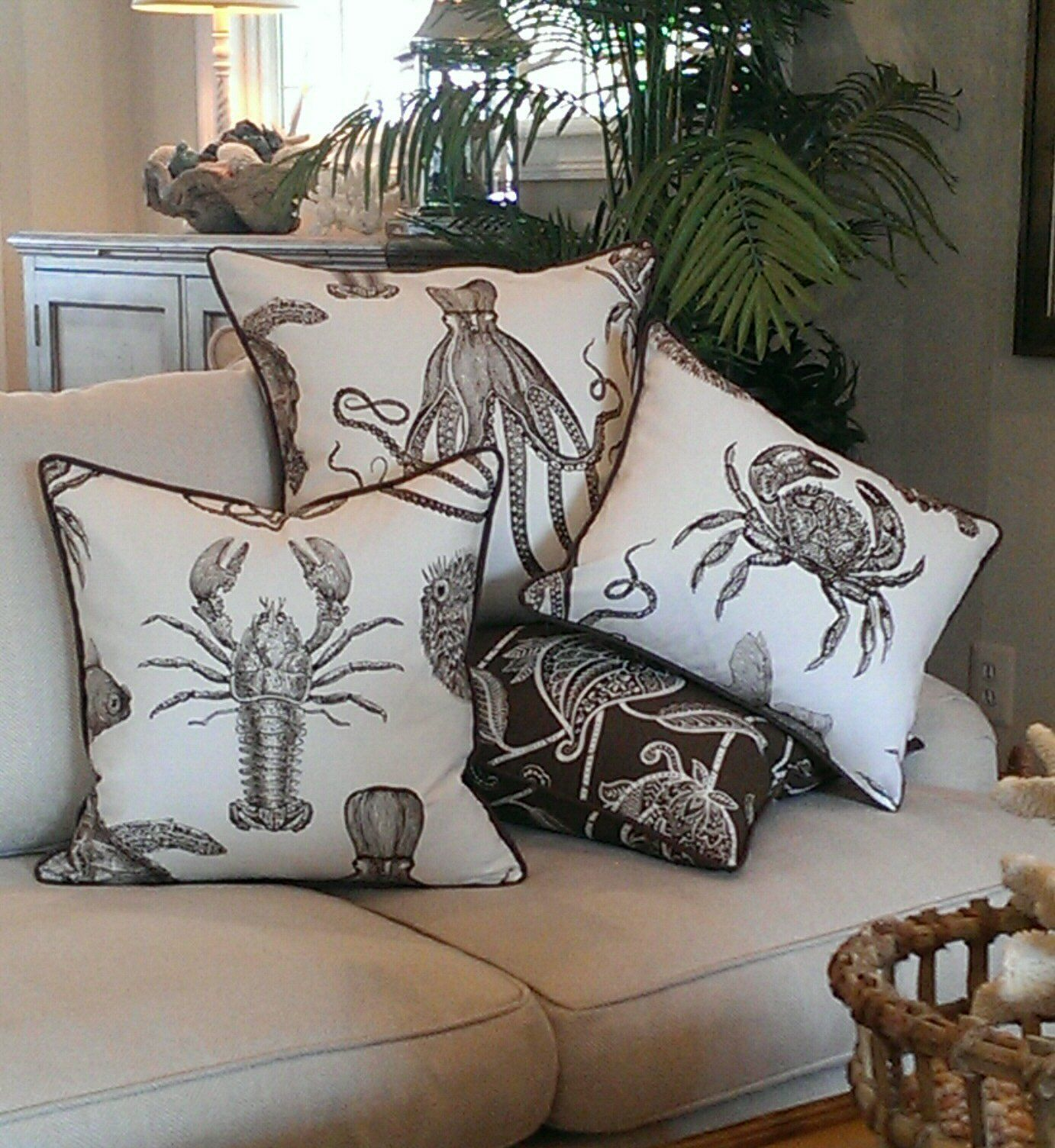 leaf decor pillows rainforest pin cushion banana home palm cover pattern pillow sofa beach tropical