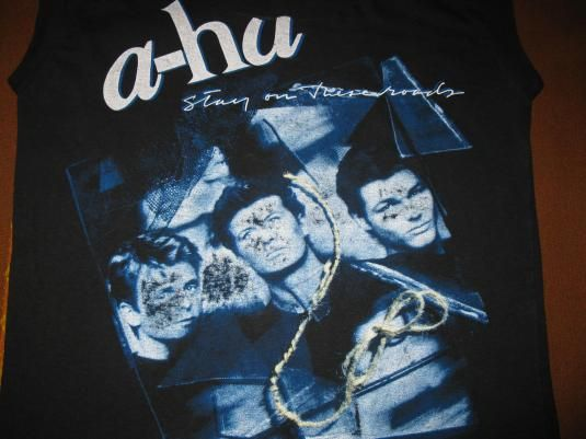 For Sale Aha Vintage Tee Bandshirt Summer Festival Swag