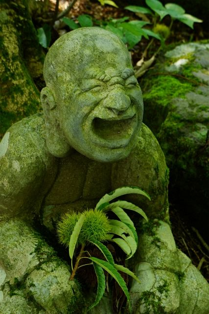 Jizo Statue at Hakone Chouan-ji Temple (Kanagawa, Japan)|仙石原・長安寺の羅漢像
