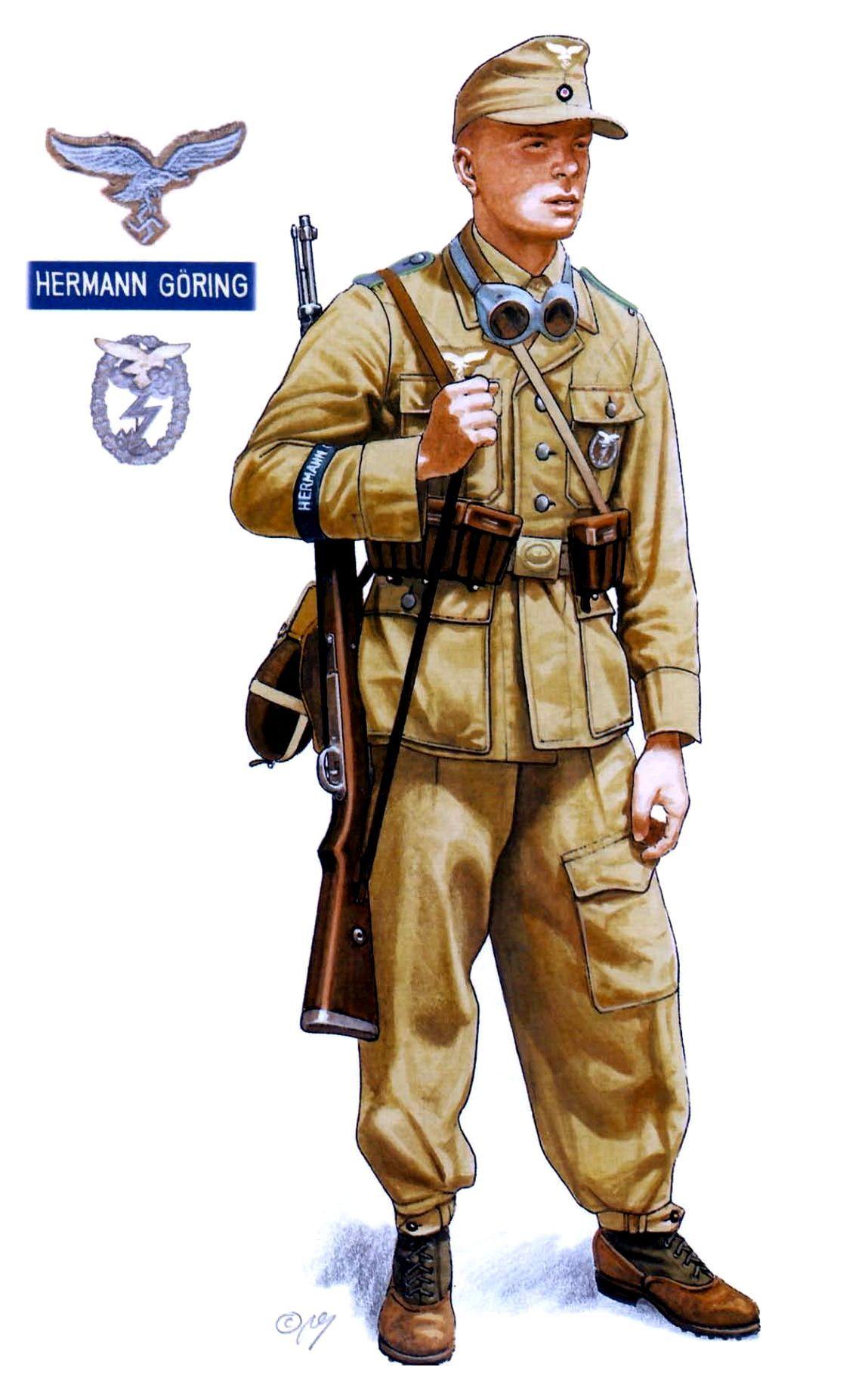 1st Fallschirm-Panzer Division Hermann Göring   Axis ...
