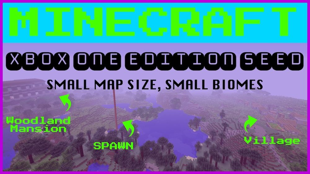 Minecraft Xbox One Edition Small Map Seed! Click on the