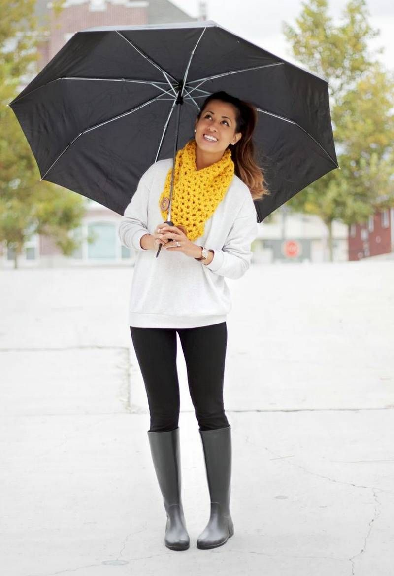5-fall Outfits For A Rainy Day | Fall Outfits For A Rainy Day | Pinterest | Cold Weather Fashion ...