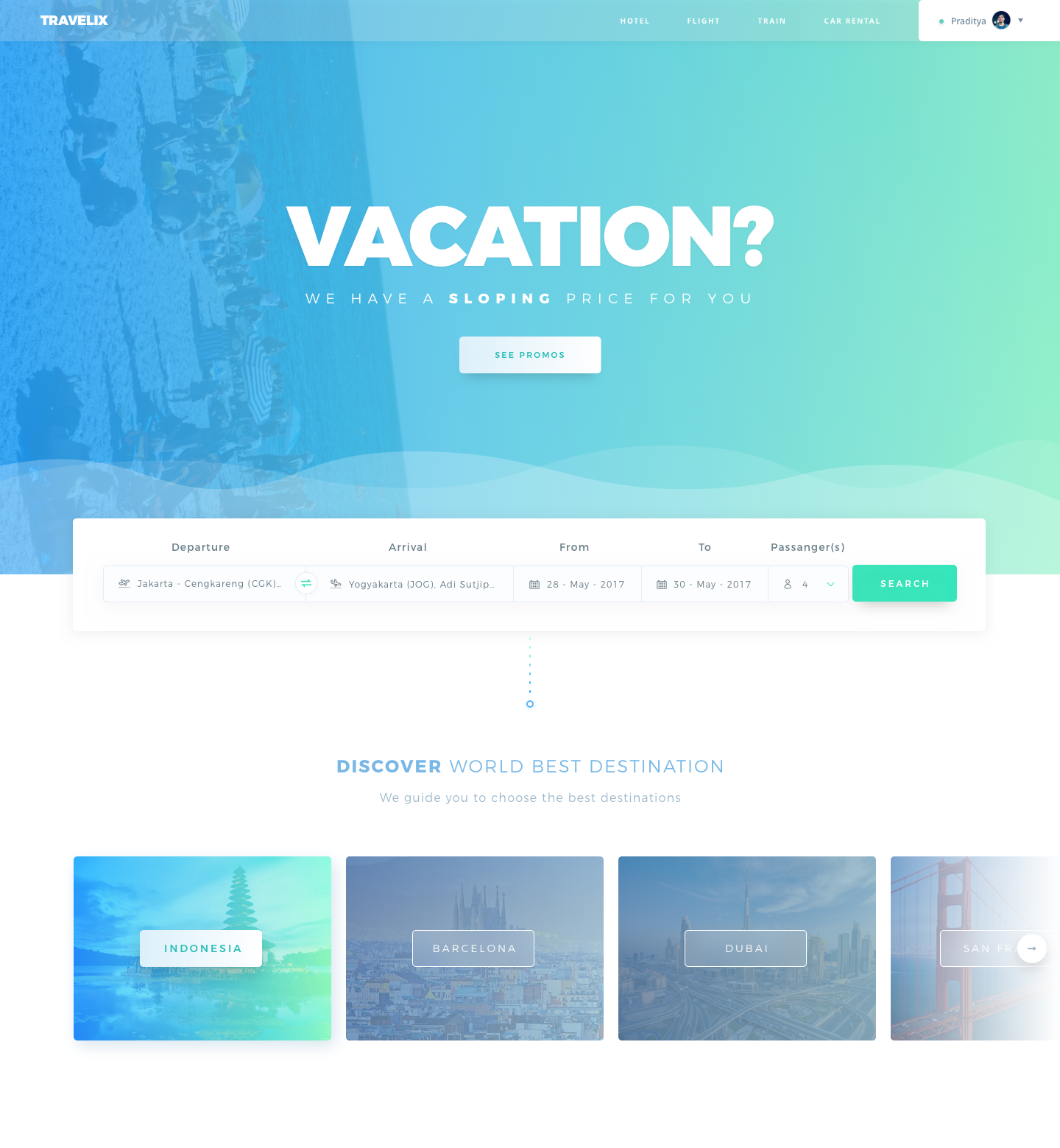 Vacation Full Vacation Trips Landing Page Vacation
