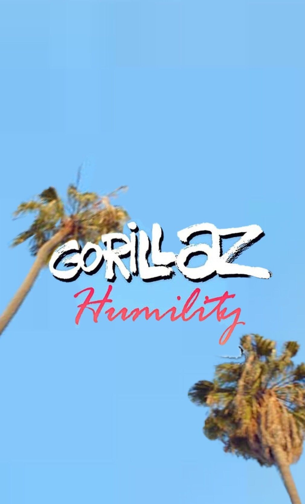 took my time and recreated the gorillaz humility logo to
