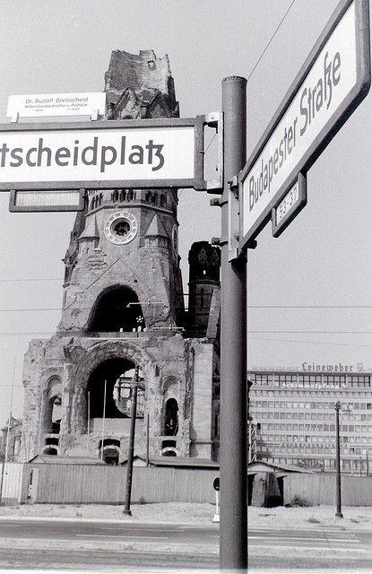 kaiser wilhelm memorial church west berlin c 31 july