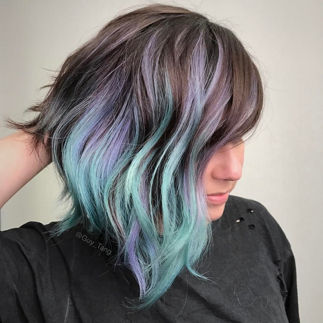 Geode Hair\' Is About to Become the New Big Hair Color Trend | Hair ...