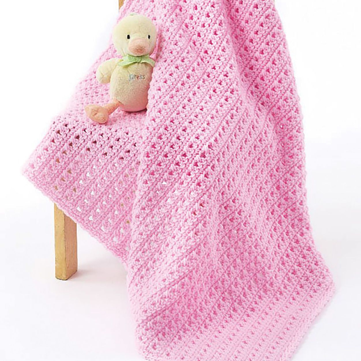 One Skein Baby Blanket pattern by Marilyn Losee | Crochet ...