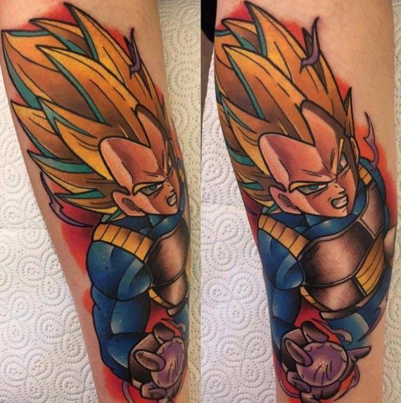 Les Plus Beaux Tatouages Dragon Ball Tattoo Ideas Tattoos Z