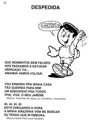Musicas Para A Rotina Escolar Educacao Infantil Rotinas