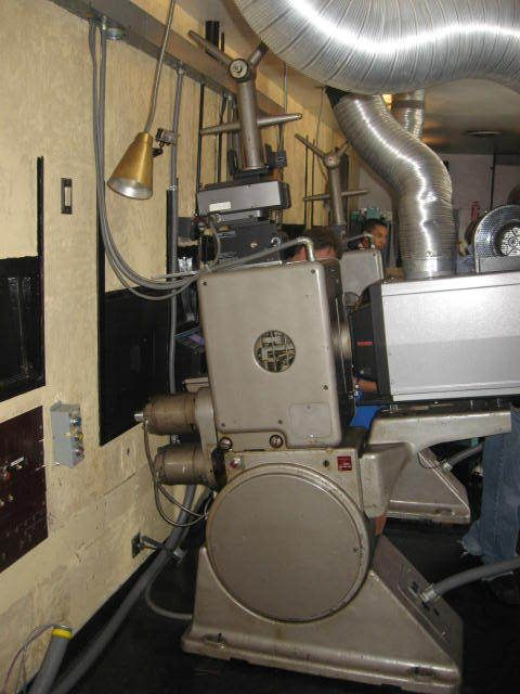 Projector Drive In Movie Theater Cinema Projectionist Movie Projector