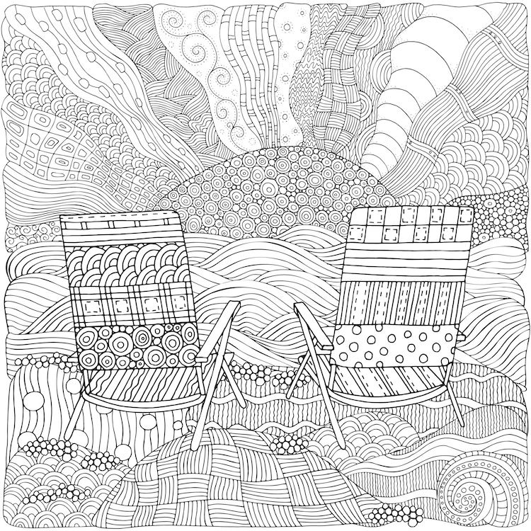 Adults Are Filling Drawings With Calming Patterns Instead Of Just Coloring Them In Zentangle Art Coloring Book Pages Coloring Books