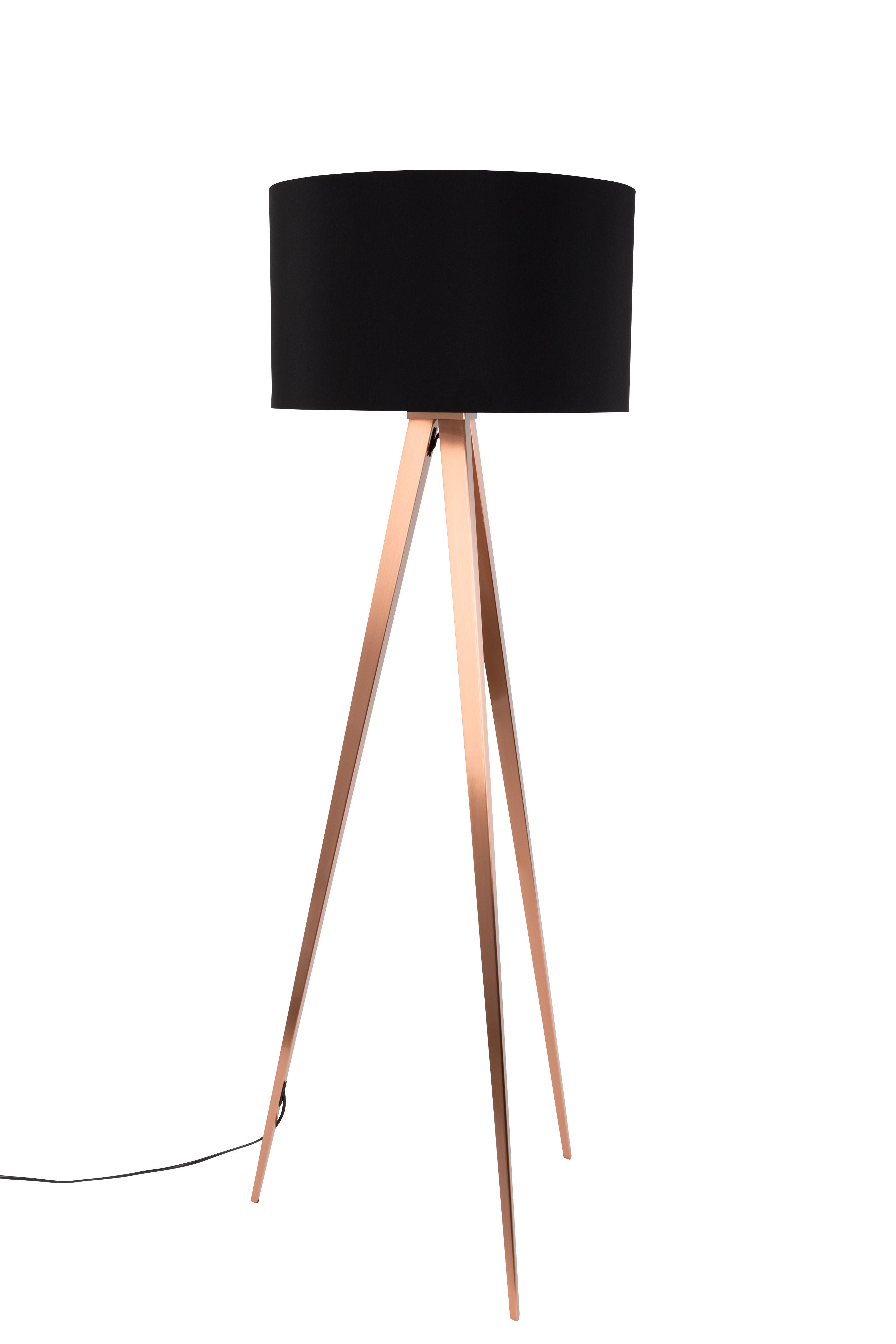 Tripod Copper Floor Lamp Vloerlamp Verlichting Lampen