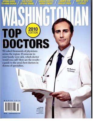 Voted Top Doctors by Washingtonian Magazine | Covers ...