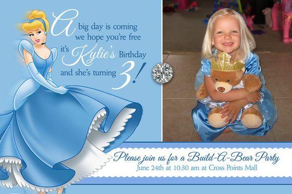 Cinderella invitations $16