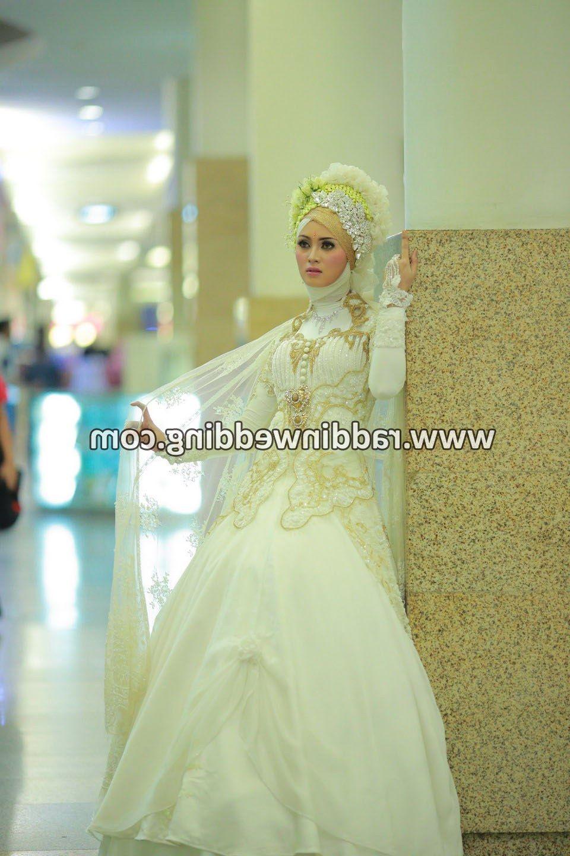 12 Ide Sewa Baju Pengantin Muslimah Murah di 12  Baju pengantin