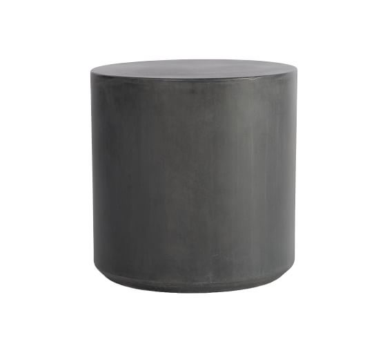 Temple Concrete Side Table In 2020 With Images Side