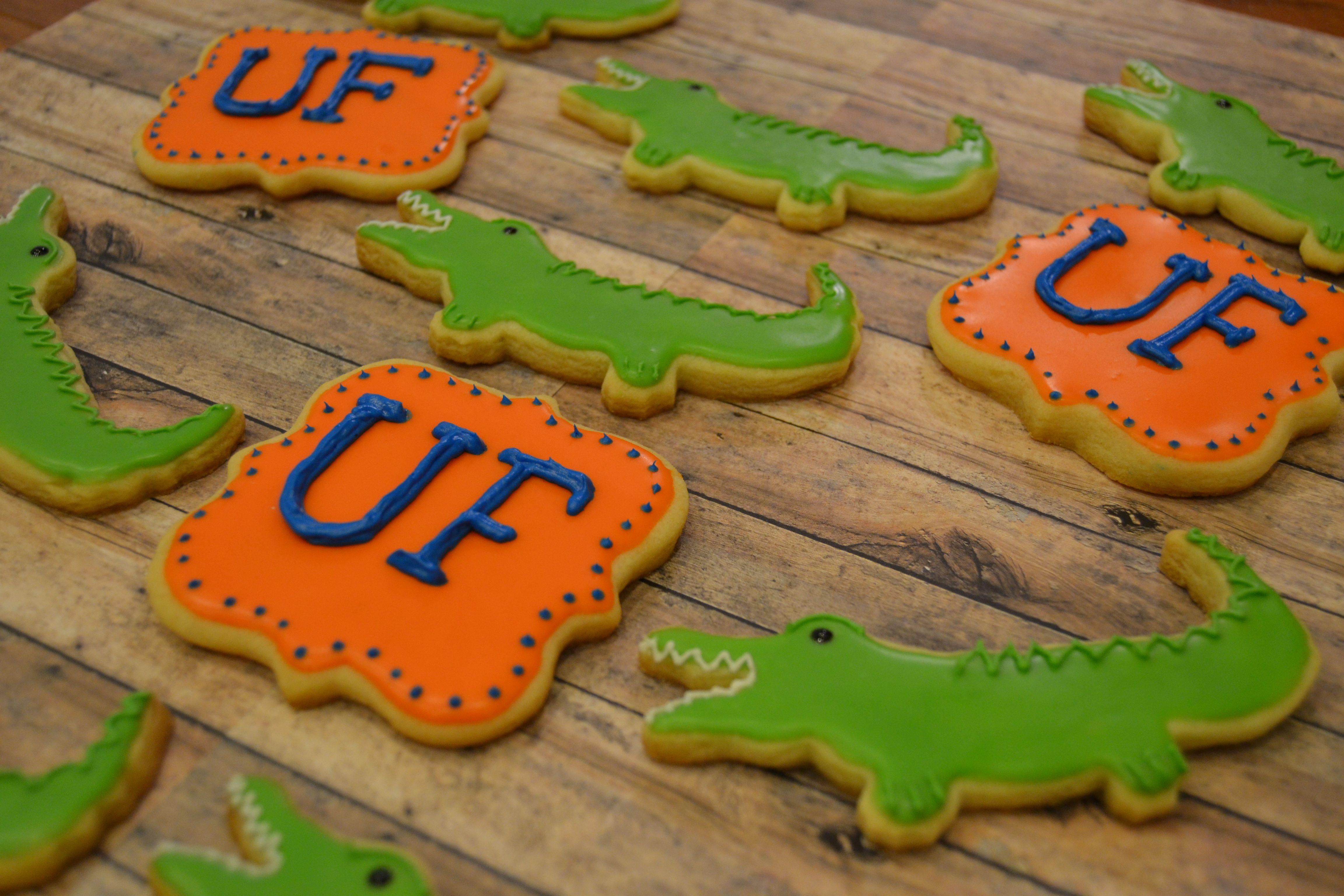 Florida Gators Cake Cookie Designs