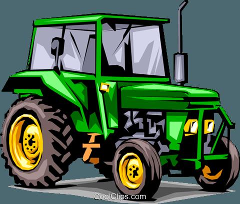 Farm Tractor Royalty Free Vector Clip Art Illustration Indu0037 Tractor Art Tractors Tractor Pictures