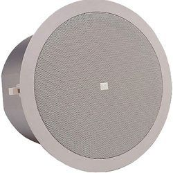 Jbl Control 26ct Two Way Vented Ceiling Speaker With Built In Transformer 6 5 Woofer Pair By Jbl 309 95 Capable Of Hi Ceiling Speakers Electronics
