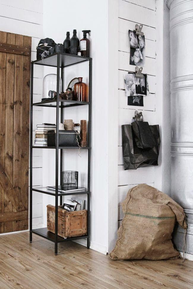 simple details ikea vittsjo shelving unit shelving. Black Bedroom Furniture Sets. Home Design Ideas