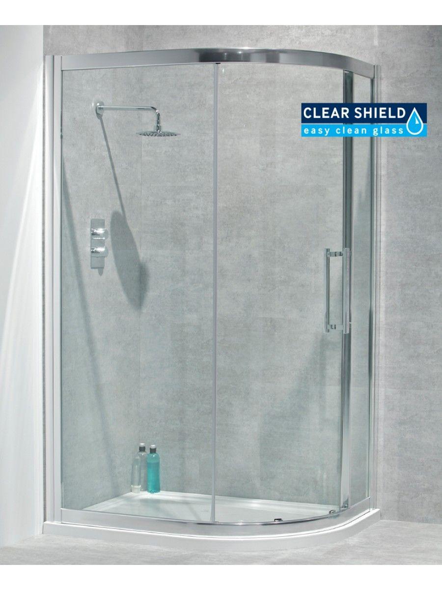 Aktive 8mm 1200x900 Offset Quadrant Door Adjustment 1150 1180mm 850 880mm Shower Doors Shower Enclosure Easy Cleaning