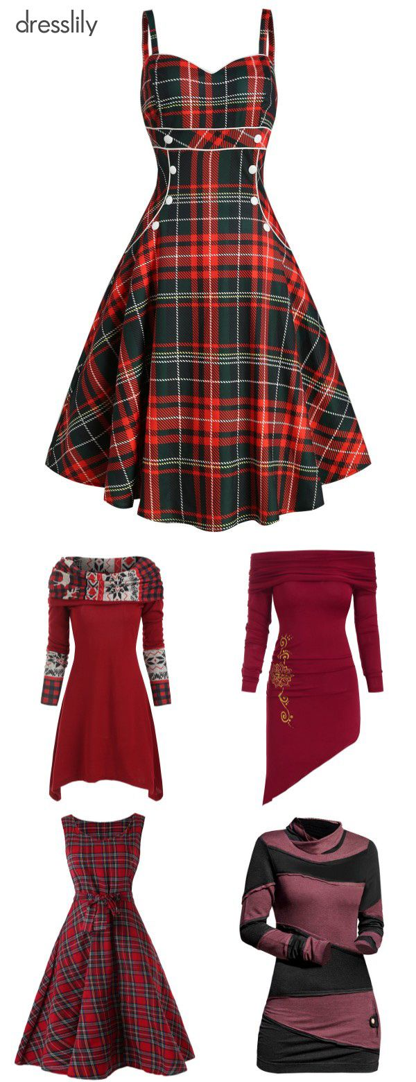 Christmas Themed Dresses | Christmas Clothes