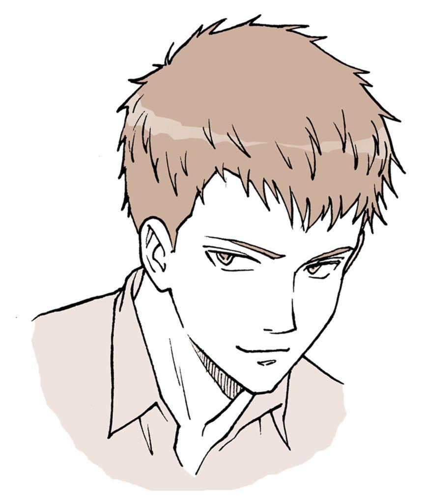 Pin By Bhaswara Arizon On Otaku In 2020 Anime Hairstyles Male Anime Head Anime Hair