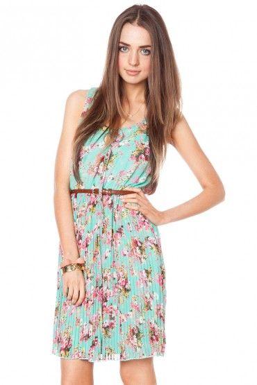 Avonlea floral dress