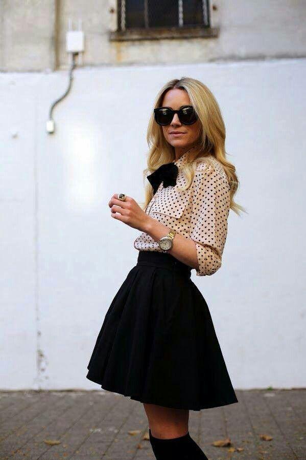 Tips for Chic School Girl Style Fashion   Sukne, Dievčatá a Blair ...