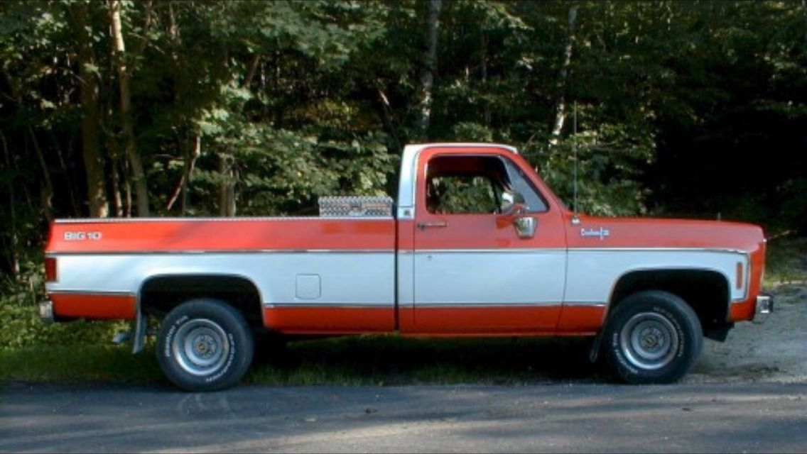 Two Tone Cool Color Palette Classic Trucks Chevy C10 Chevy