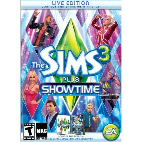 Sims 3 Showtime plus Sims 3 [Mac Download] $49.99
