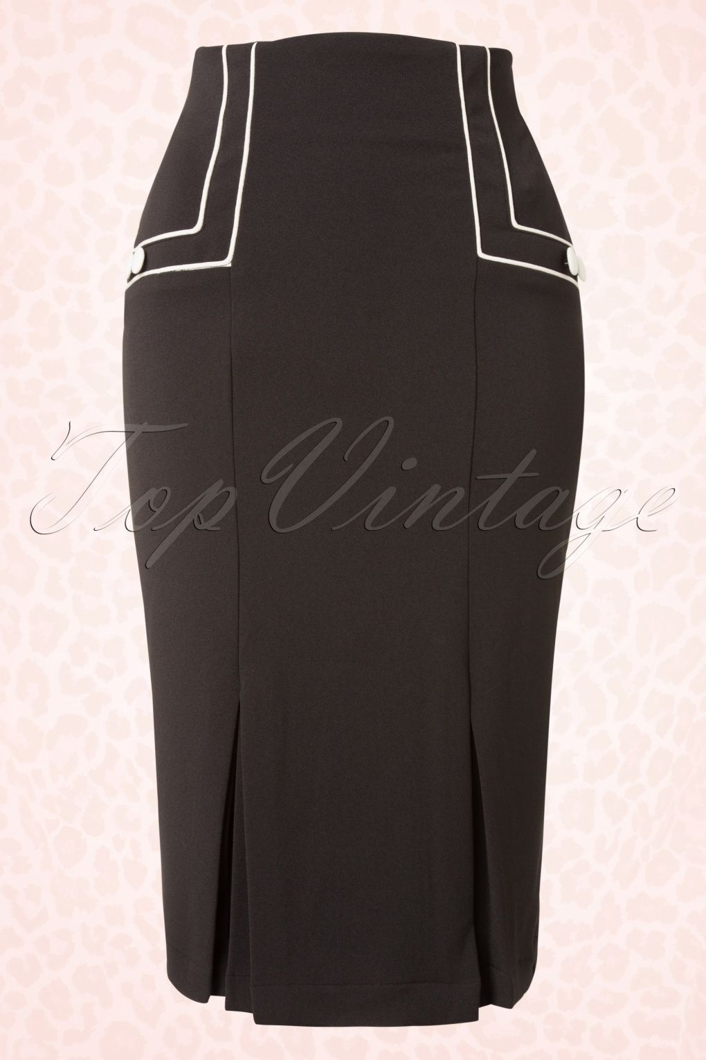 This s savannah pencil skirt in black by bunny is a classy pencil