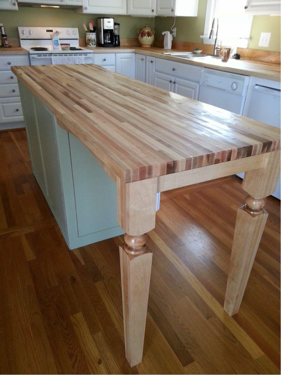 Wood Legs For Kitchen Island | http://navigator-spb.info | Pinterest ...