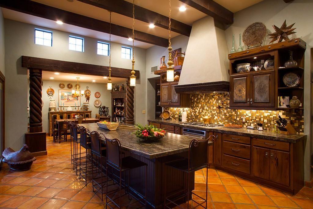 Modern Mexican Style Kitchen Novocom Top