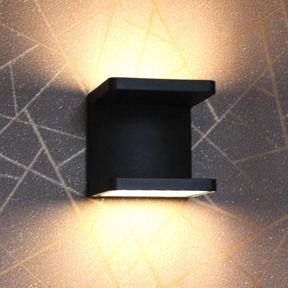 skapetze cobo led aussen wandleuchte up down 2x6w anthrazit innenleuchten wandleuchten s. Black Bedroom Furniture Sets. Home Design Ideas