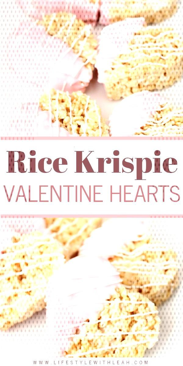 The most delicious Rice Krispie Valentine Hearts are on the blog! Easy to make, yummy to eat!
