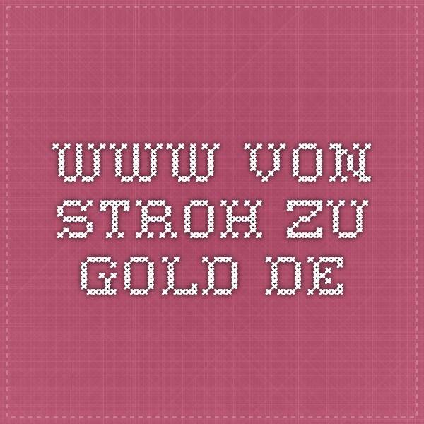www.von-stroh-zu-gold.de Häkeln - Englisch - Deutsch | Crochet ...
