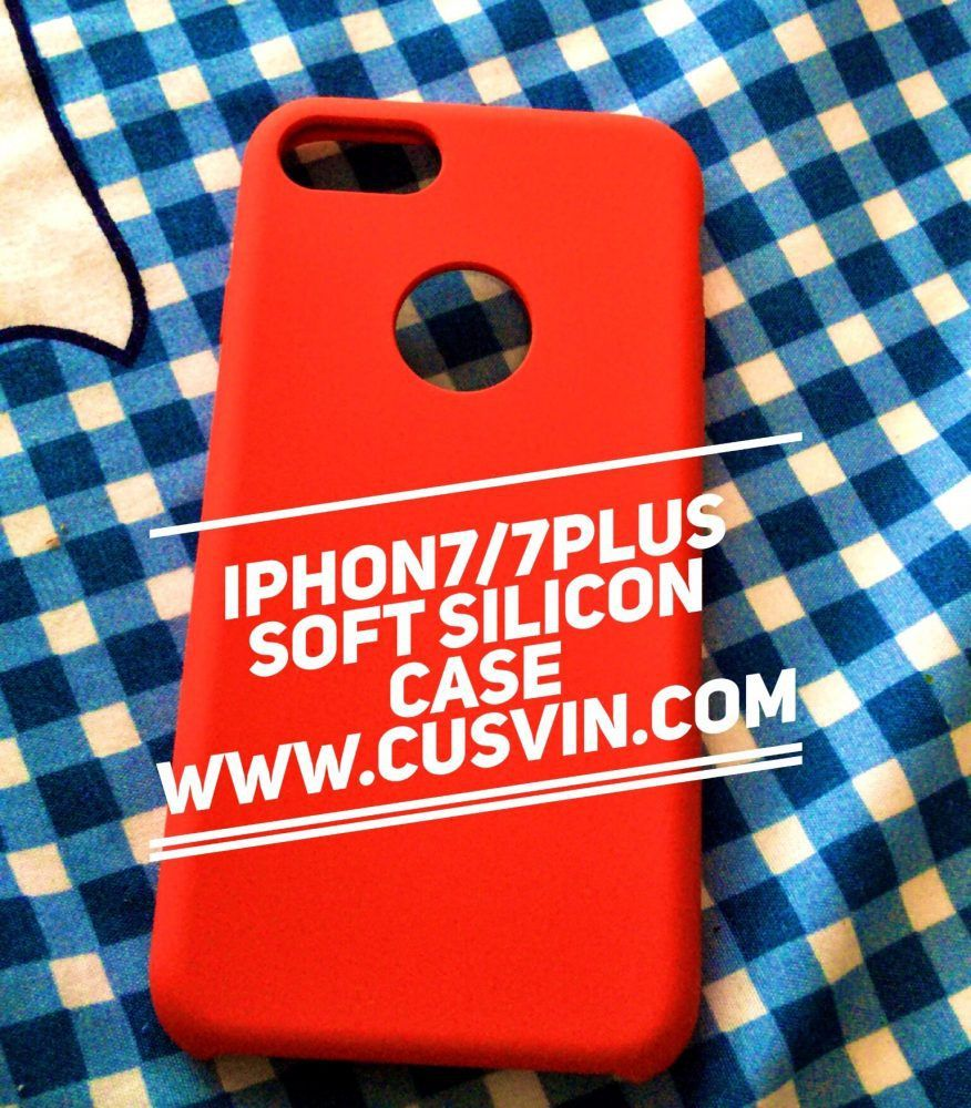 iPhone7 7plus Soft silicon case