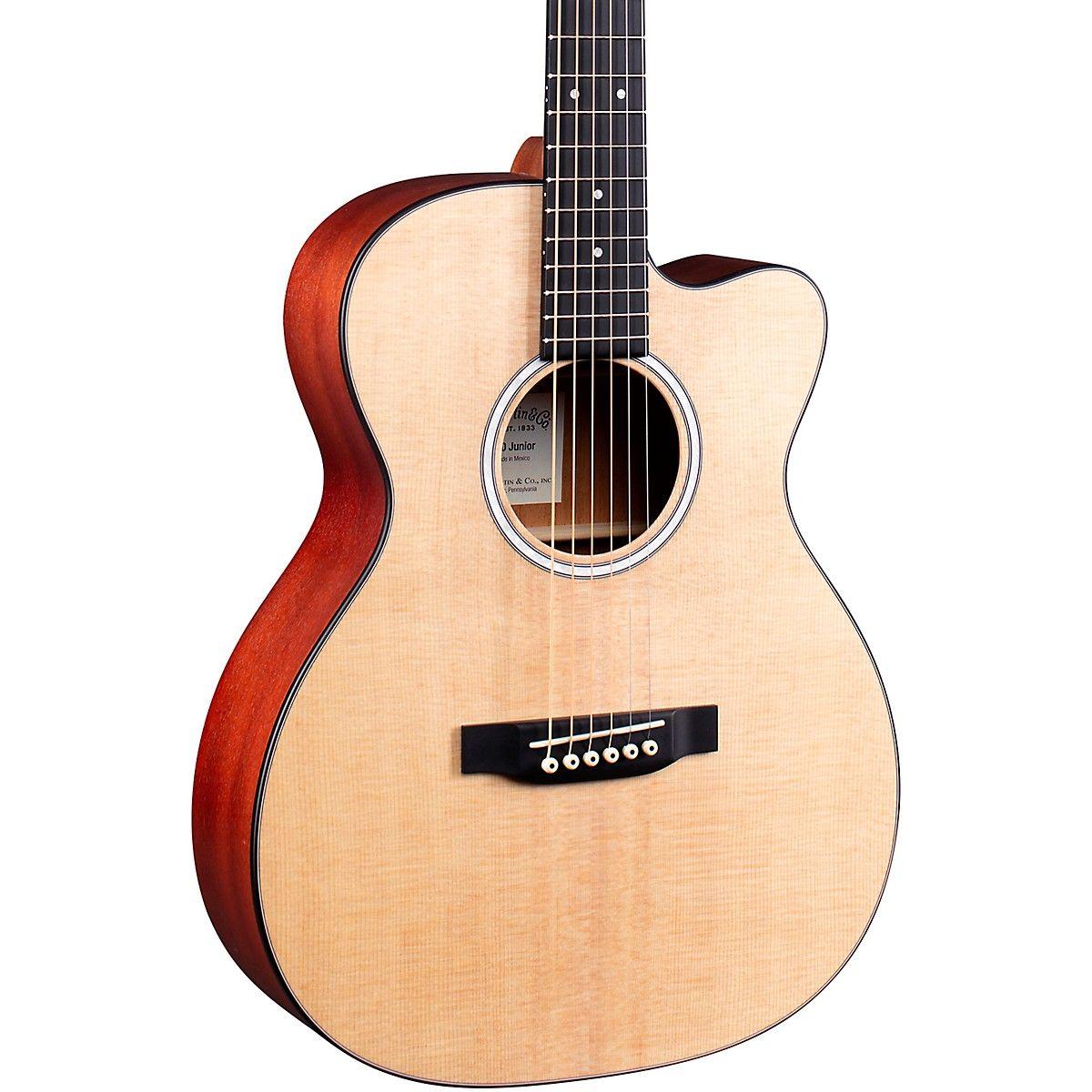 Martin 000 Jr 10e Auditorium Cutaway Acoustic Electric Guitar In 2020 Acoustic Electric Guitar Acoustic Electric Electric Guitar