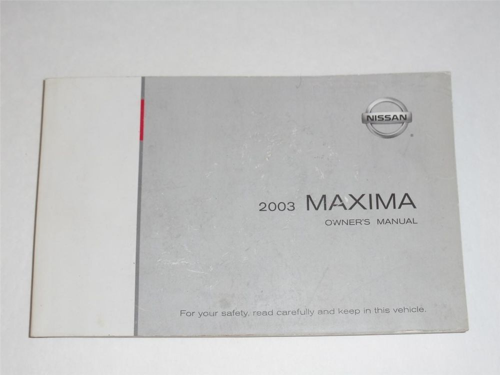 2003 nissan maxima owners manual book owners manuals pinterest rh pinterest com 2004 nissan maxima owners manual 2004 nissan maxima owners manual free