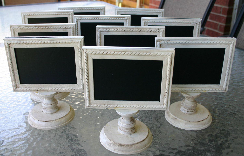ONE Framed and Doublesided Chalkboard Weddings, Buffets
